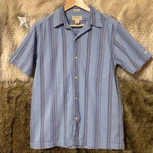 American Eagle Vintage Slim Fit Button Down Shirt